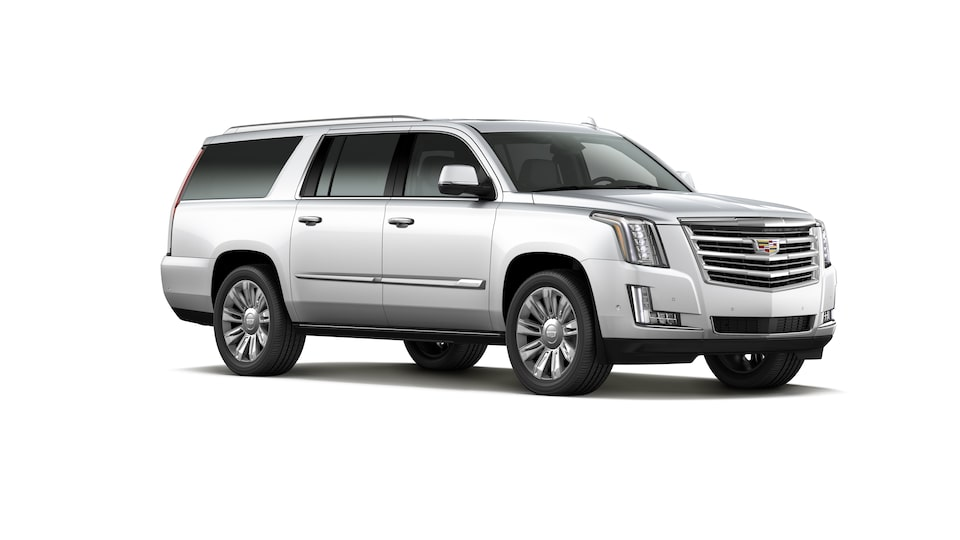 Cadillac Escalade 2020, SUV en color Crystal White