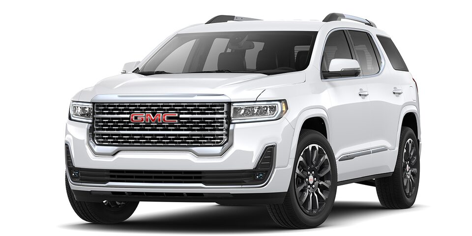 Acadia Denali 2020 en color blanco